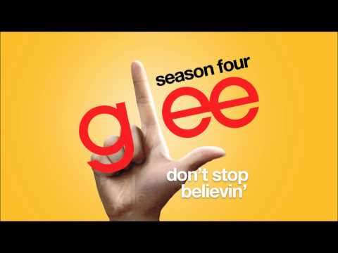 Don't Stop Believin' | Glee [HD FULL STUDIO]