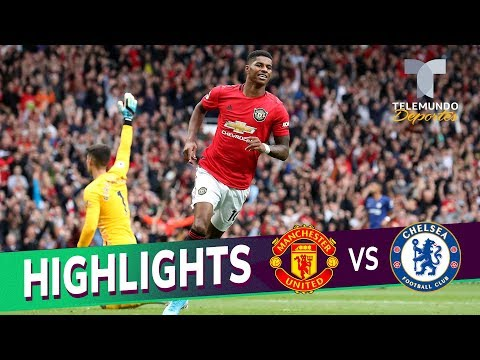 Manchester United vs. Chelsea: 4-0 Goals & Highlights | Premier League | Telemundo Deportes