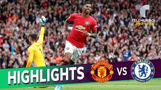 Manchester United vs. Chelsea: 4-0 Goals & Highlights | Premier League | Telemundo Deportes Video