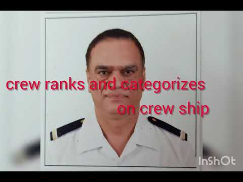 crew/staff/ officer ranks on cruise ship Ranks ship position