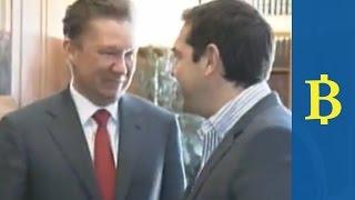 When Alexis met Alexei for energy talks in Greece...