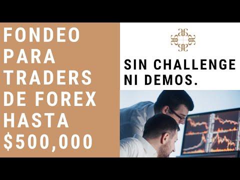 Funded Trader Program - Fondeo para traders de Forex hasta $500,000 sin challenge ni demos.