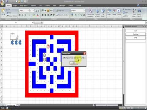 how to make tetris in excel