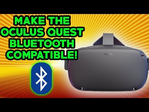 How To Make Oculus Quest Bluetooth Headphones Work (ANY BLUETOOTH)