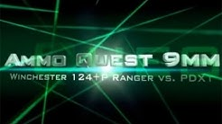 Ammo Quest 9mm: Winchester PDX1 and Ranger 124 +P test in ballistic gel