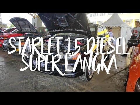 Starlet Mesin Diesel !! Bandung Lautan Toyota Starlet 2019