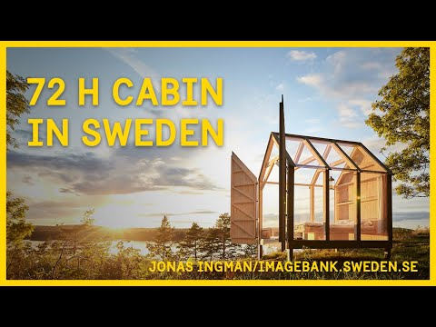 The 72 Hour Cabin in Sweden - Documentary