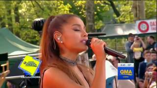 Ariana Grande - Dangerous Woman   (Live on GMA 2016)