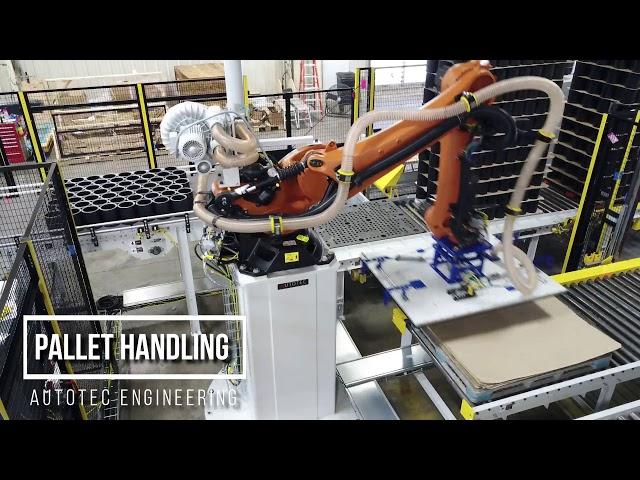 Robotic Slipsheet & Pallet Handling | Autotec Solutions