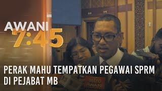 Perak mahu tempatkan Pegawai SPRM di Pejabat MB