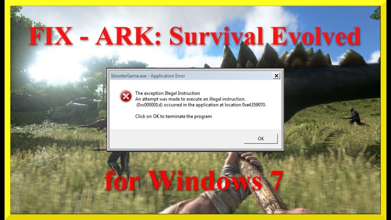 скачать shootergame.exe для ark
