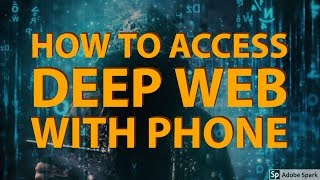 How to access in deep web using Android Handset I Explained in Bengali