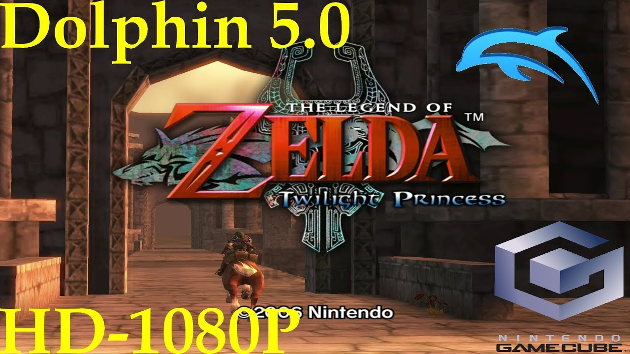 The Legend of Zelda: Twilight Princess (GC) - Dolphin