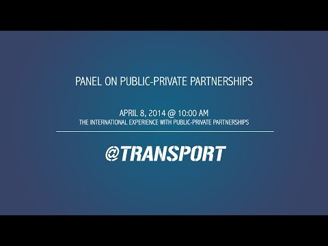 The International Experience with Public-Private Partnerships