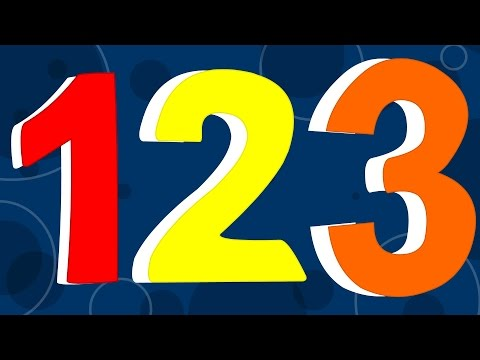 Numbers Song For Children | 123 Number Nursery Rhyme For Kids