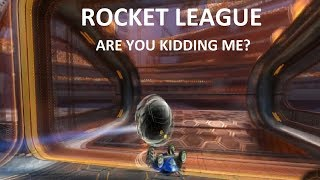 Rocket League: A series of unfortunate events (Ranked 2v2)