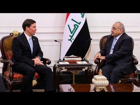 قادماً من الرياض.. وزير الدفاع الأمريكي في بغداد لمناقشة وضع قواته في المنطقة …  - نشر قبل 4 ساعة