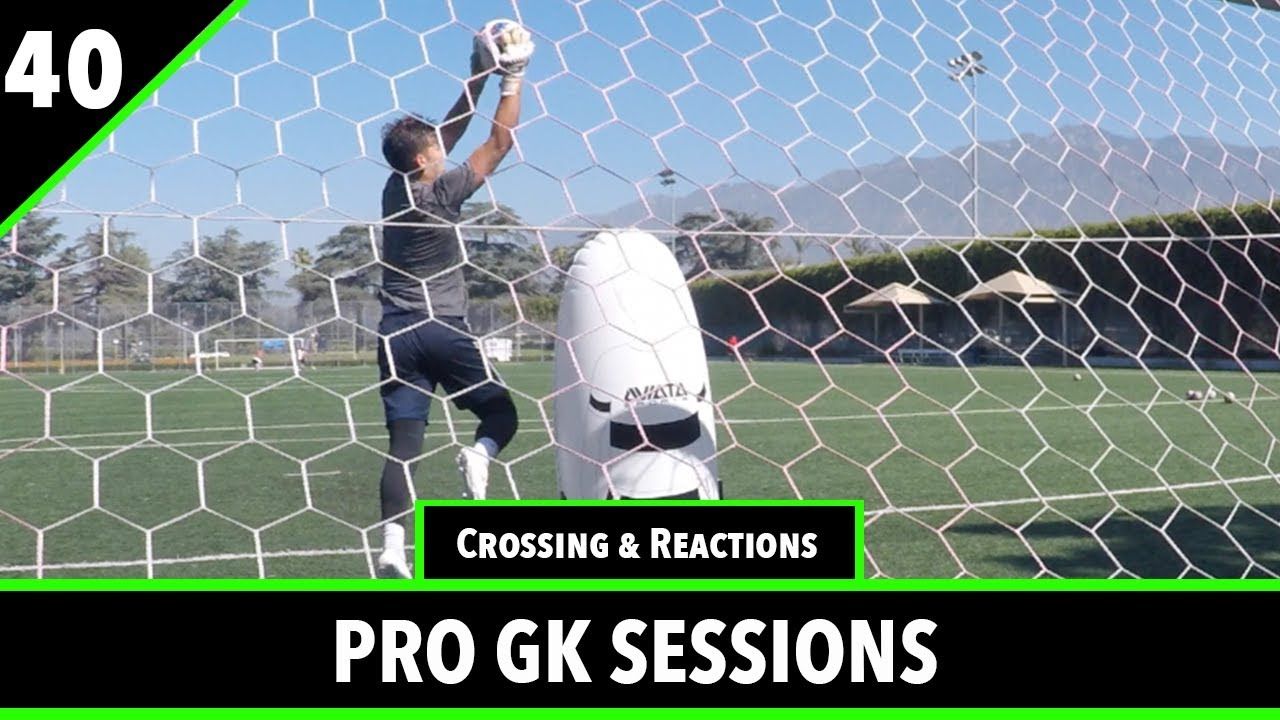 Crossing & Reaction Training | Pro Gk Sessions