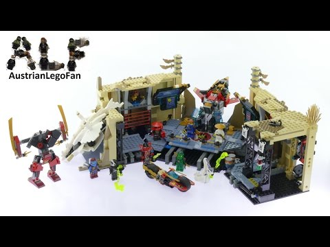 Lego Ninjago 70596 Samurai X Cave Chaos - Lego Speed Build Review