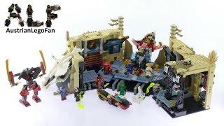 Lego Ninjago 70596 Samurai X Cave Chaos - Lego Speed Build Review