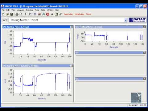 Introducing DADiSP Waveform Analysis Software - YouTube