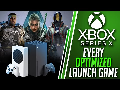 The Entire Xbox Series X OPTIMIZED Launch Lineup For Day 1| Xbox Series X Overheating Drama CRUSHED