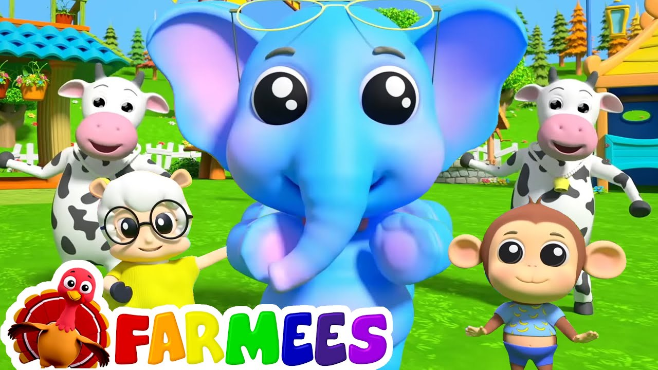 The Animal Dance   Farmees Nursery Rhymes & Baby Songs   Animal Cartoon