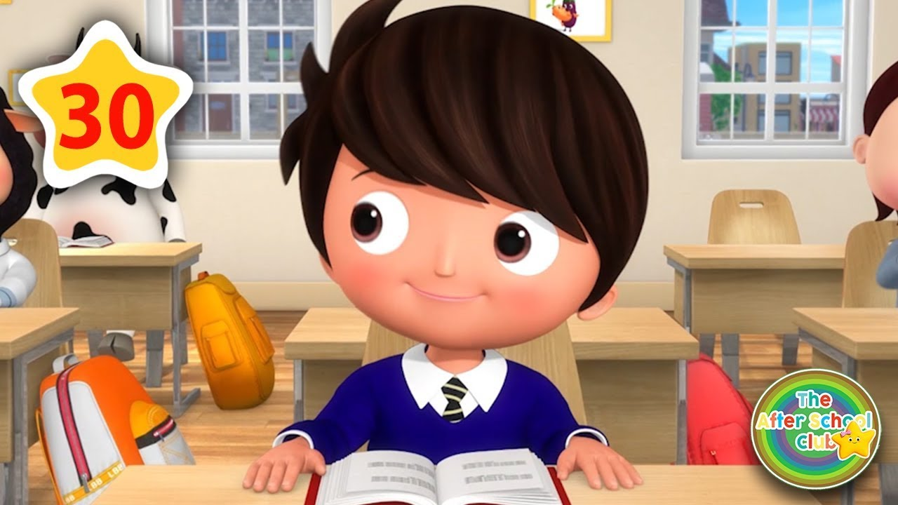 Going Back To School | Kids Songs | Little Baby Bum | ABCs and 123s