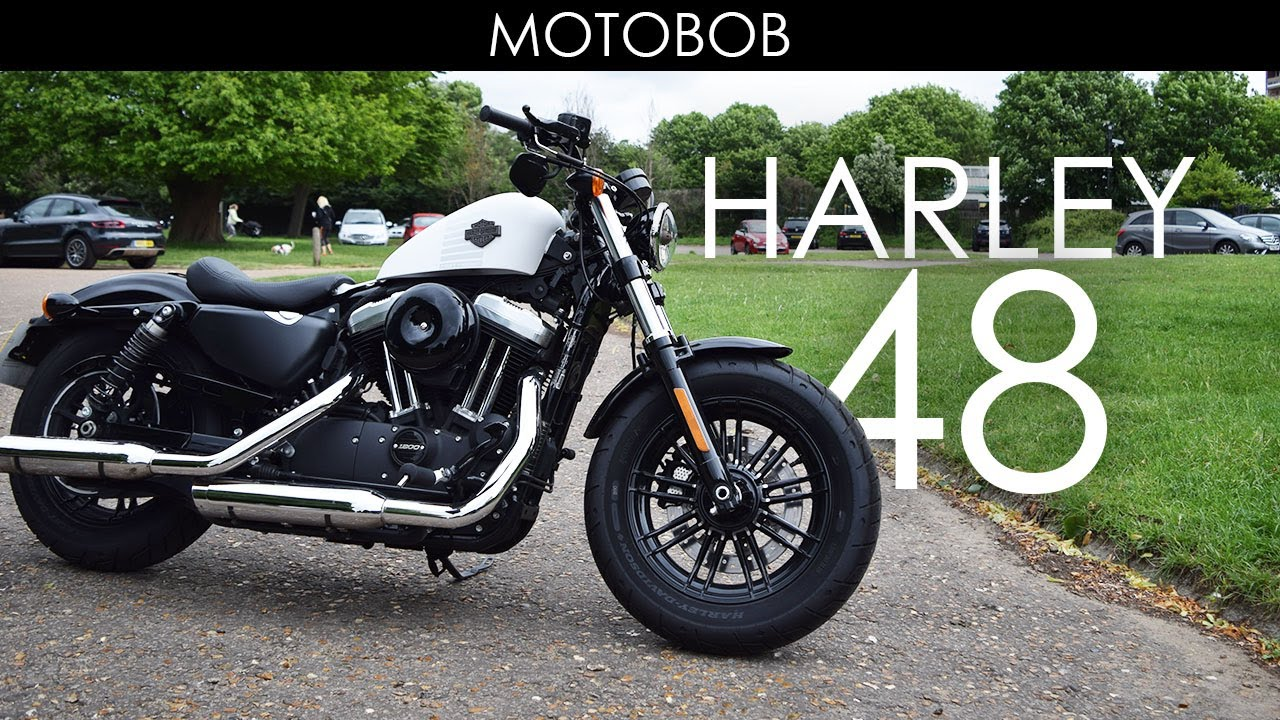Harley Davidson 48 Test Ride & Review 2017 (Warr's, Chelsea) - YouTube