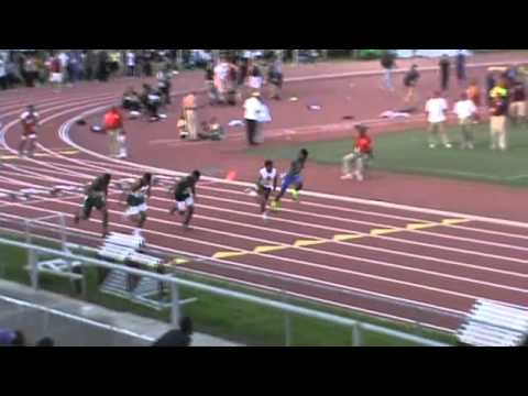 2012 TSU Relays   100m Dash   Finals   Boys   Heat 1