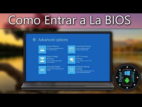 Como Entrar a la BIOS (Windows 8, 8.1, 10) Toshiba TAMBIÉN FUNCIONA PARA OTRAS MARCAS