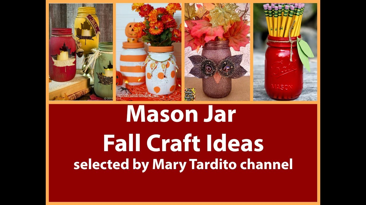 Diy Fall Decorations Easy Mason Jar Fall Decorations Diy Fall Decorating Ideas