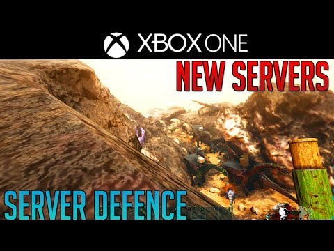 Official Server Defence - Ark New Servers - Xbox One - Episode 8