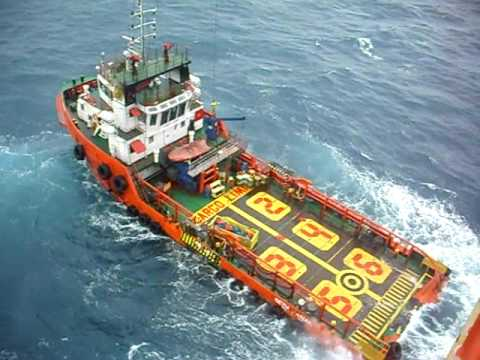 Offshore - Boat alongside