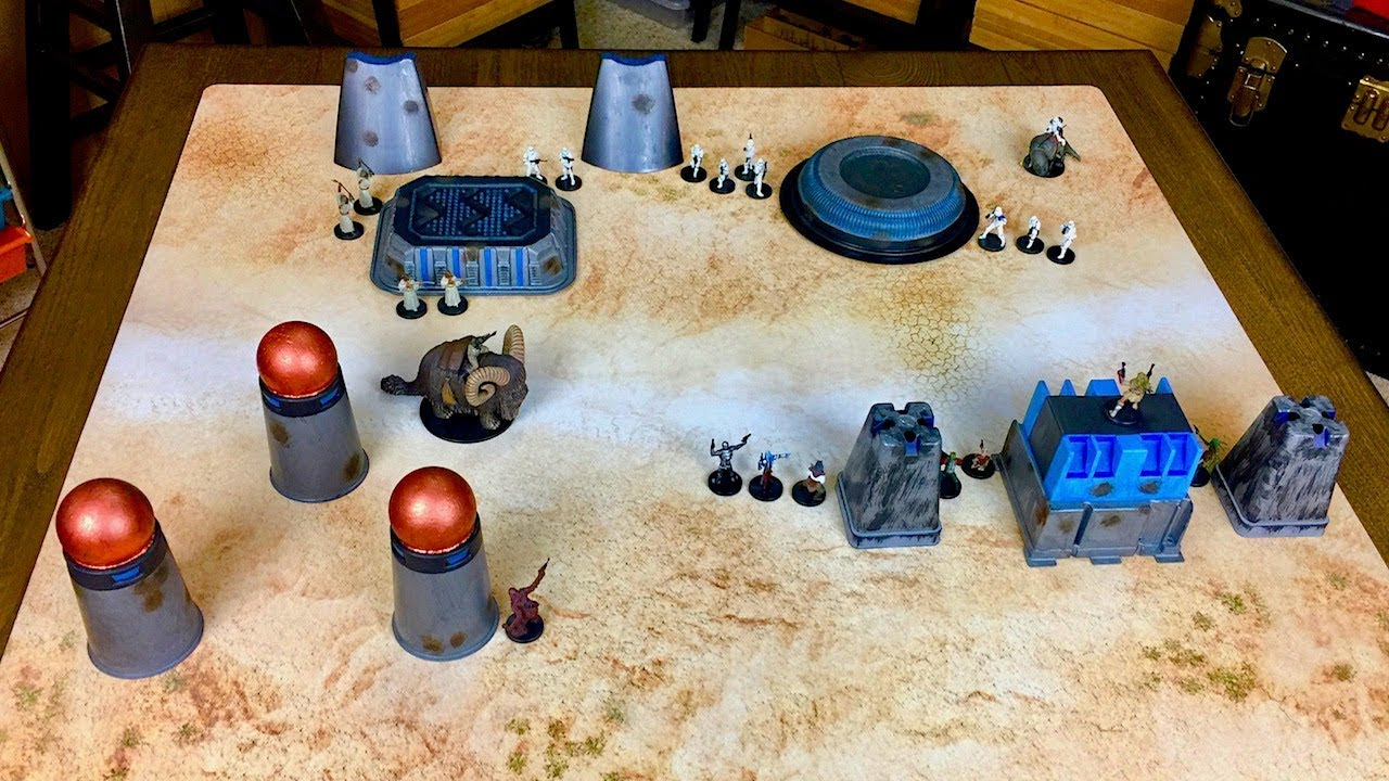 Star Wars Legion Cheap Wargaming Terrain