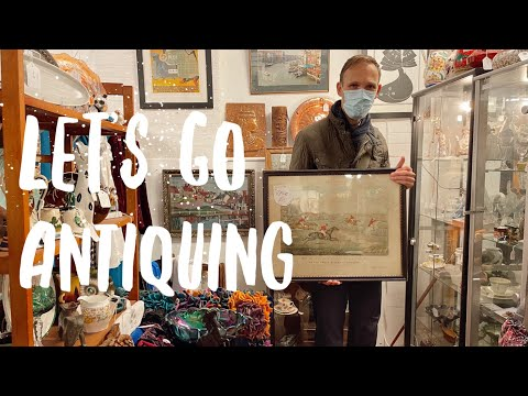SHOP WITH US AT A GREAT ANTIQUE CENTRE: ANTIQUING IN ENGLAND
