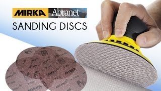 Infinity Cutting Tools - Mirka Abranet Sanding Discs