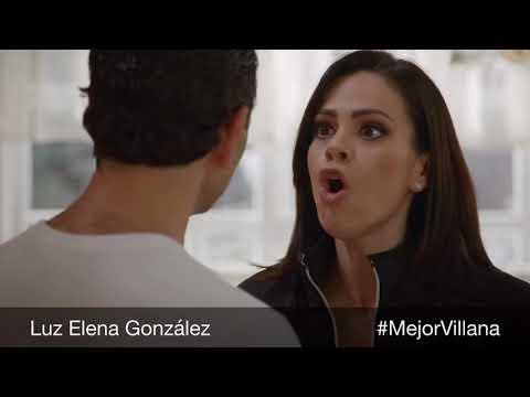 Luz Elena González Mejor Villana