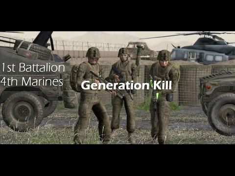 Arma 2: 1st Bat. 4th Marines - Generation Kill