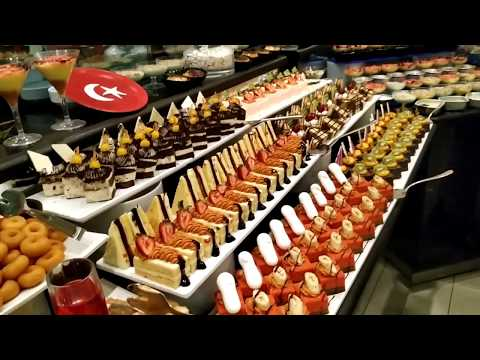 Ужин в отеле Nashira Resort Hotel & Aqua - SPA