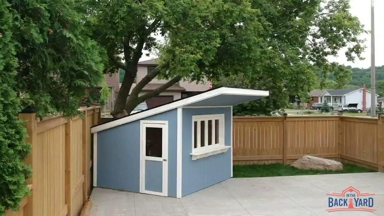 Backyard Garden & Storage Sheds Hamilton | In The Back Yard