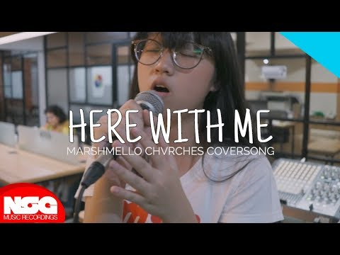 Marshmello Ft. CHVRCHES - Here With Me (KIM! Cover)