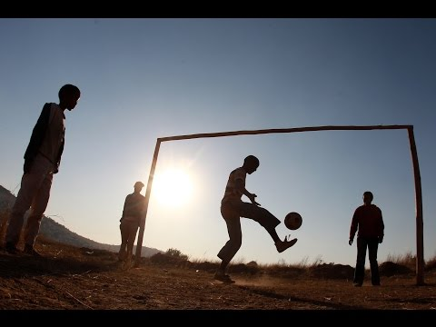 A new football school in South Africa