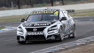 Nissan V8 Supercars Winton test