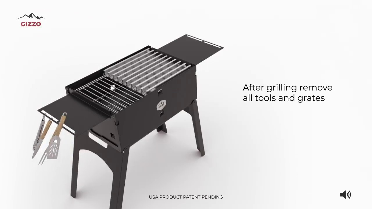 Foldable BBQ do it yourself 74