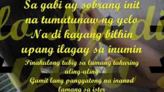 UPUAN (LYRICS) BY.GLOC9 FT.JEAZELL GRUTAS OF ZELLE.wmv