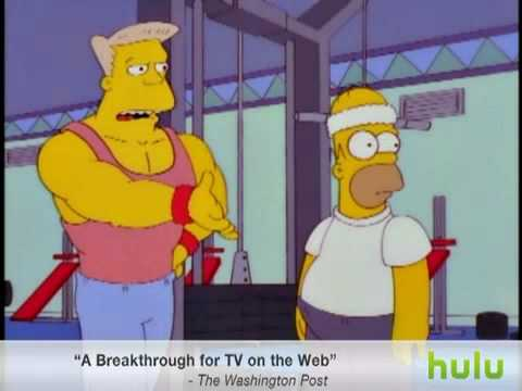 The Simpsons : Homer in the Gym