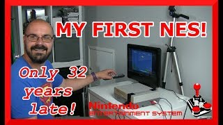 Never owned a NES before! | NES unboxing and setup