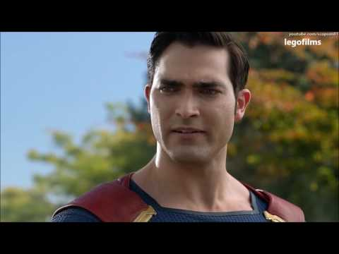 The Flash 3×19 Clip Barry Meets Superman and Supergirl  (Fan Made)