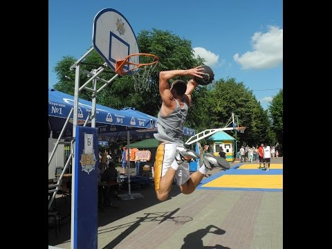Слем Данк Контест УСЛ Кировоград 19.06.2016 Slam Dunk Contest Kirovohrad часть 1